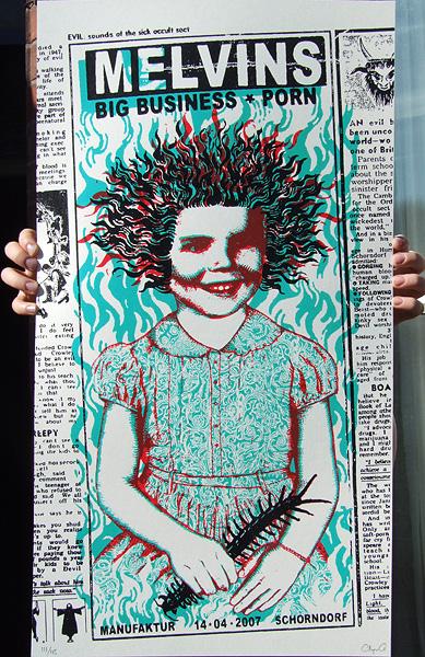 Melvins Print