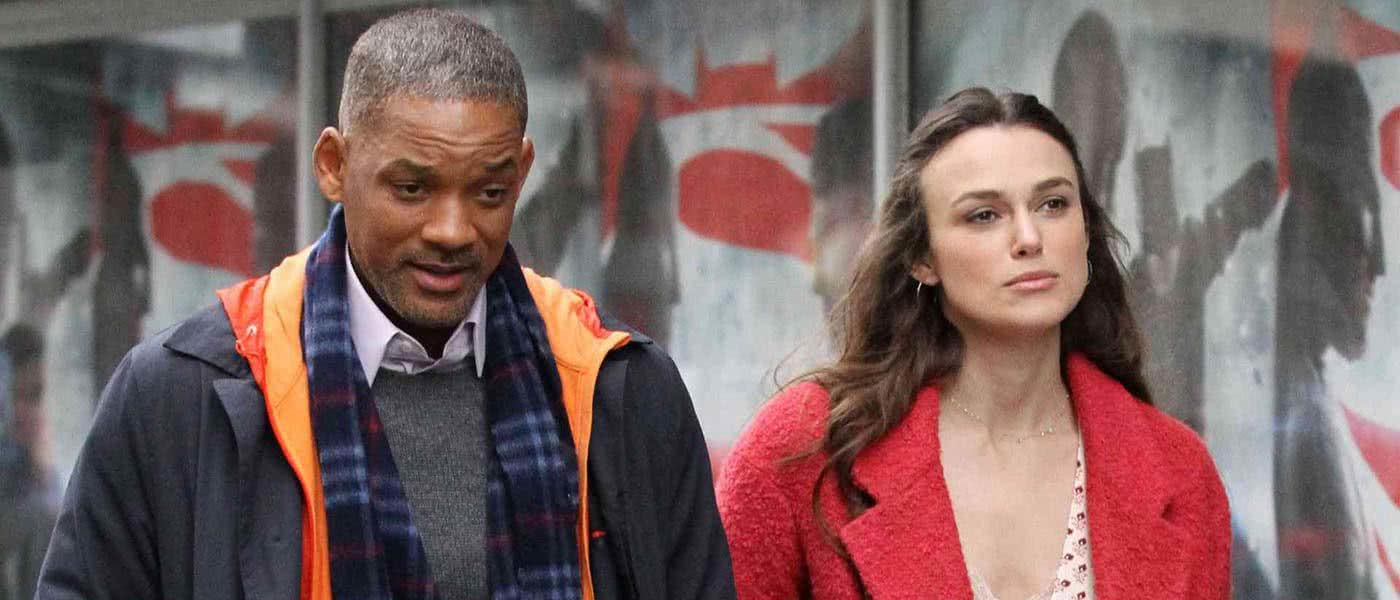 Will Smith and Keira Knightley in Collateral Beauty