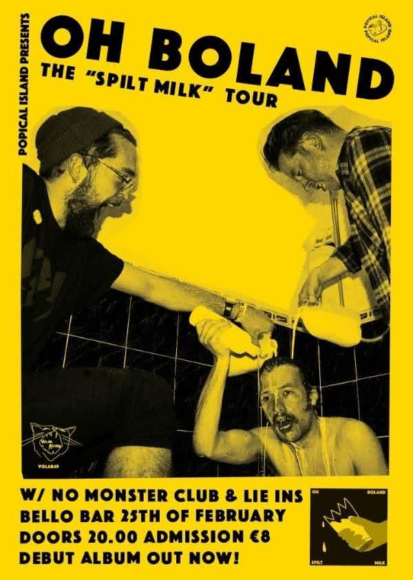Oh Boland - Spilt Milk Launch