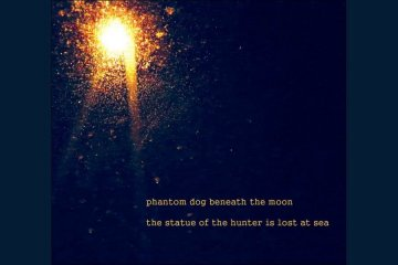 Phantom Dog Beneath The Moon- The Statue of The Hunter Is Lost At Sea