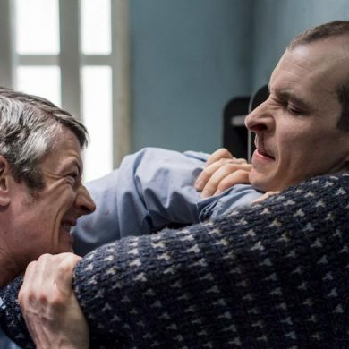 Barry Ward and Tom Vaughan-Lawlor in Maze