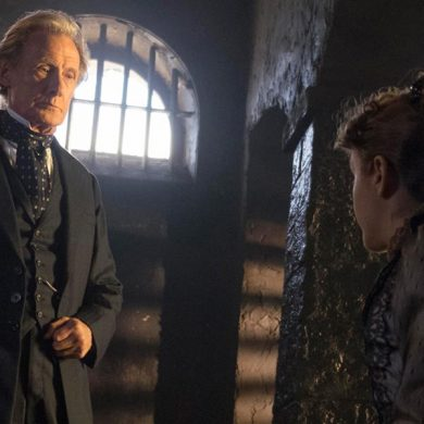 Bill Nighy and Olivia Cooke in The Limehouse Golem