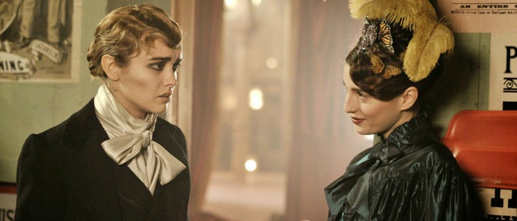 Olivia Cooke and María Valverde in The Limehouse Golem