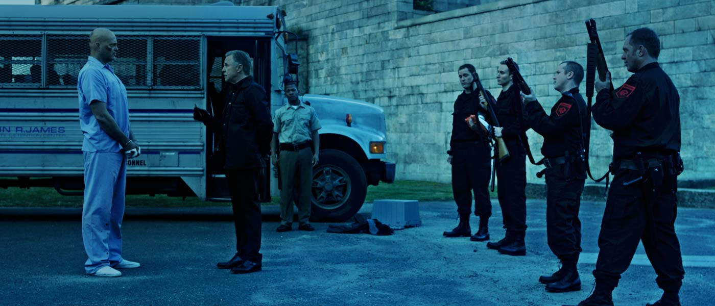 Vince Vaughn and Don Johnson in Brawl in Cell Block 99