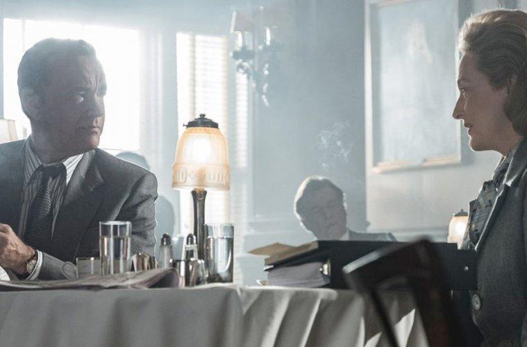 Tom Hanks and Meryl Streep in The Post