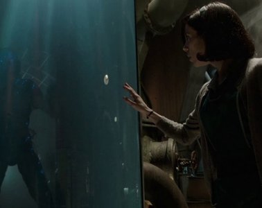 Doug Jones and Sally Hawkins in The Shape of Water