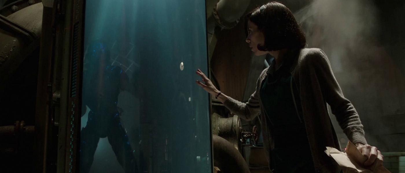 Doug Jones and Sally Hawkins in The Shape of Water