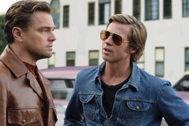 Leonardo DiCaprio and Brad Pitt in Once Upon a Time in Hollywood